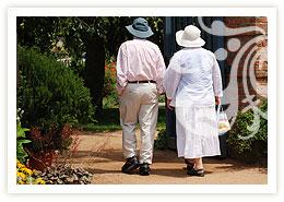 garden for elderly care brighton lyndhurst