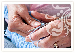 knitting activity care home brighton lyndhurst